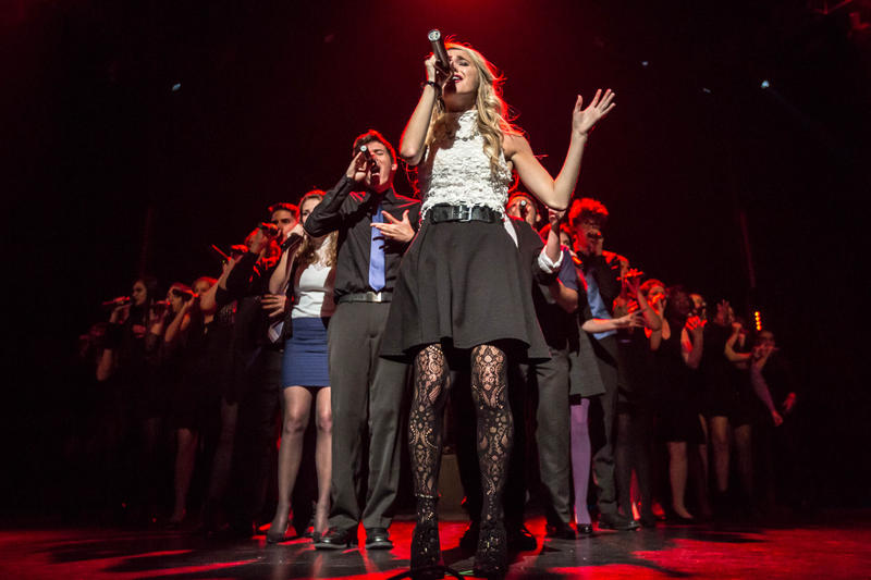 TAG, The A Cappella Group, performing at the National A Cappella Convention in Spring 2016.