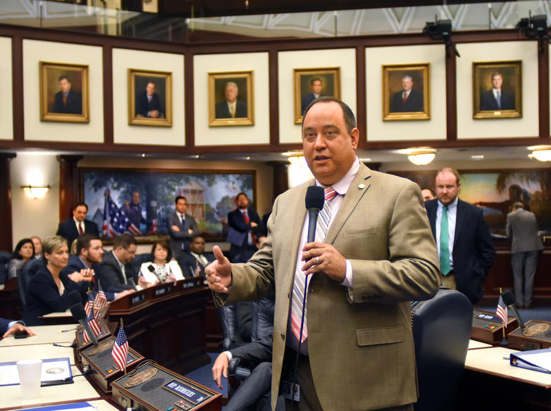 Majority Leader Rep. Ray Wesley Rodrigues (R-Fort Myers/Estero) announces the Medical Marijuana bill would be added to Legislature's special session agenda.
