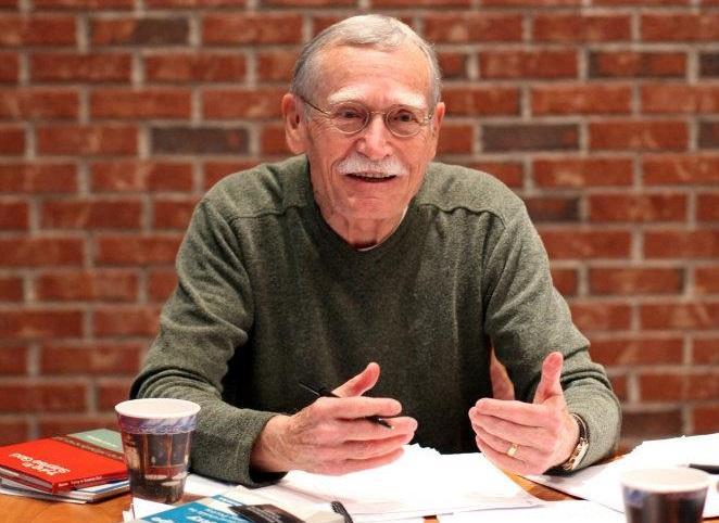 Florida Poet Laureate Peter Meinke.