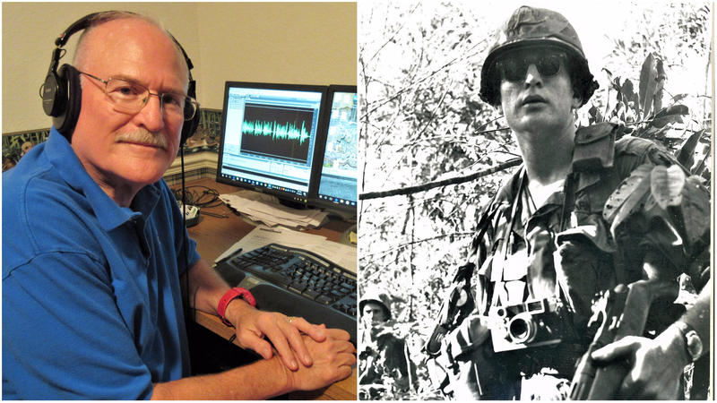 Michael Hirsh tells his story of being an Army Combat Correspondent in Vietnam.