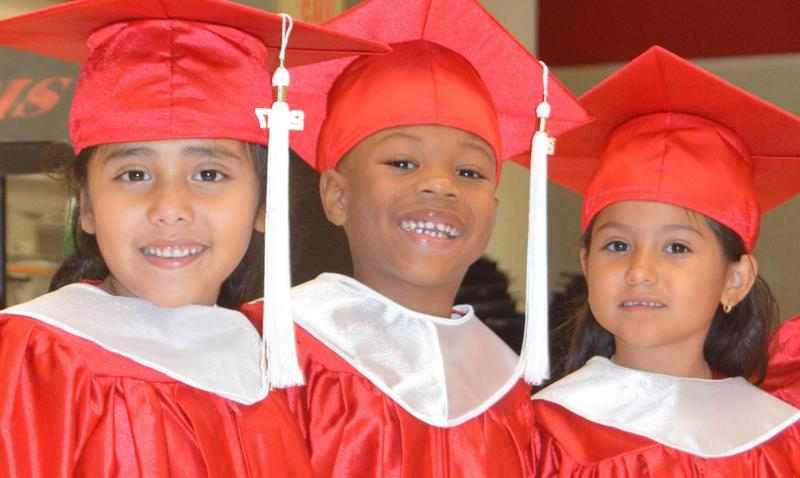 Guadalupe Center Early Childhood Education students.