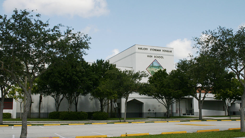 Marjory Stoneman Douglas High School, via Wikipedia