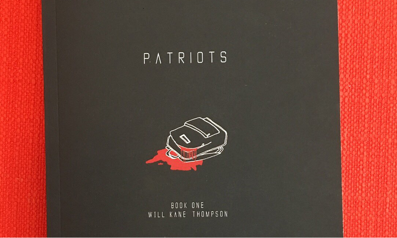 """Cover of """"Patriots"""" by Will Kane Thompson"""