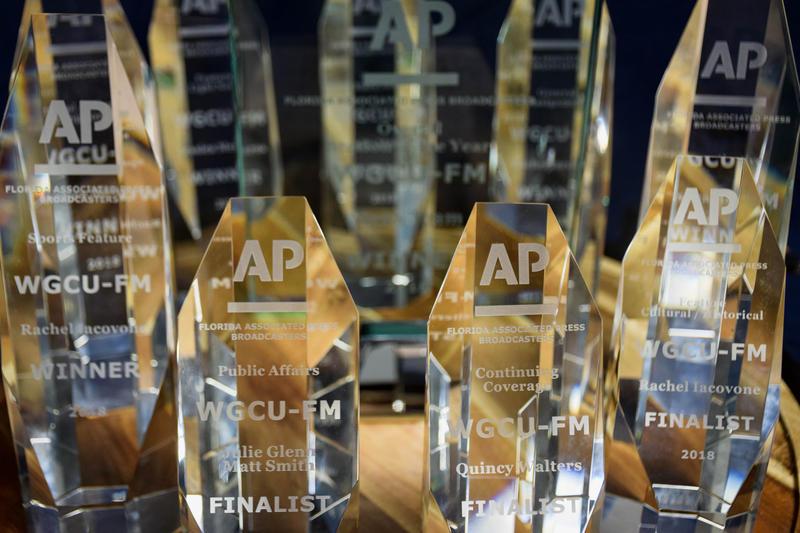 WGCU's 2017 AP awards