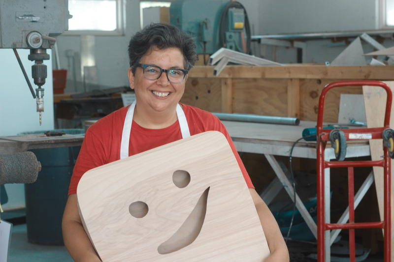Rosanna Bruno, a comic artist from New York City, branches off to create musical instruments.