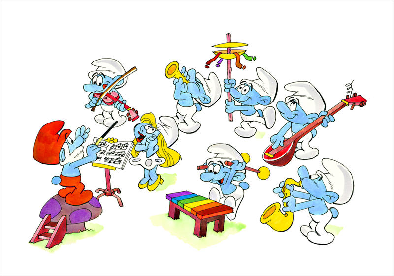 The Smurf Orchestra