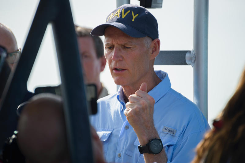 Governor Rick Scott during his tour