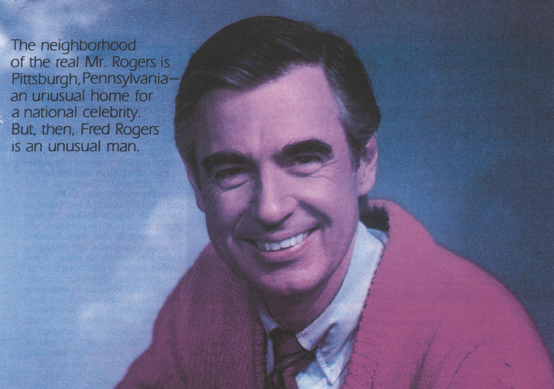 Fred Rogers from 1982 Parents Magazine Story