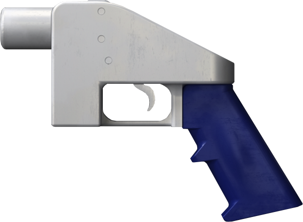 The Liberator 3D-printed gun designed by Defense Distributed