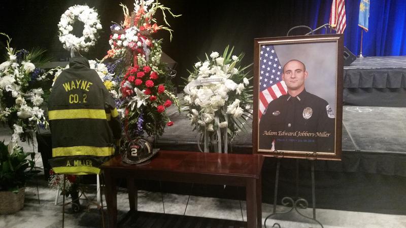 FMPD Officer Adam Jobbers-Miller Funeral