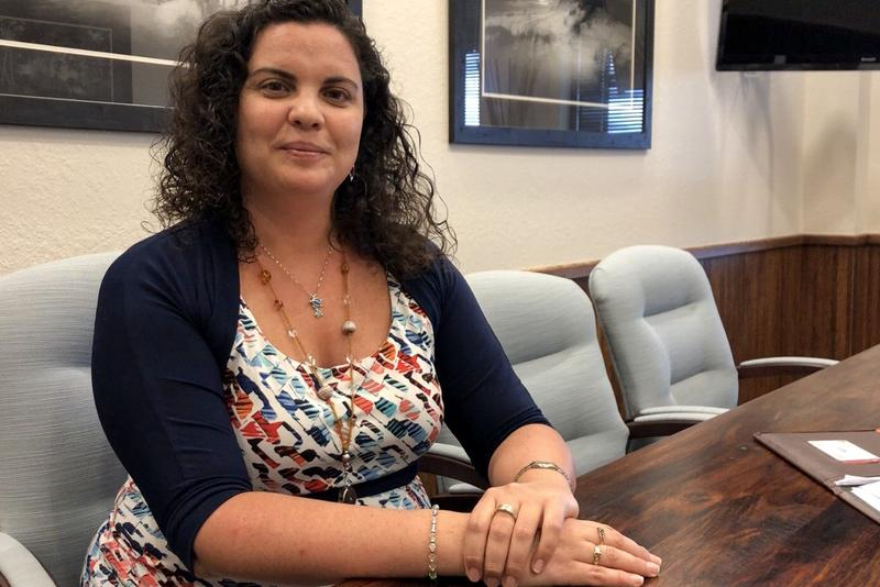 """Lucy Maldanado, Fiscal Manager for the Lee County Board of County Commissioners:  Visitor and Convention Bureau.  Maldanado is featured in WGCU-FM's weeklong """"Hispanic Heritage Month"""" series"""