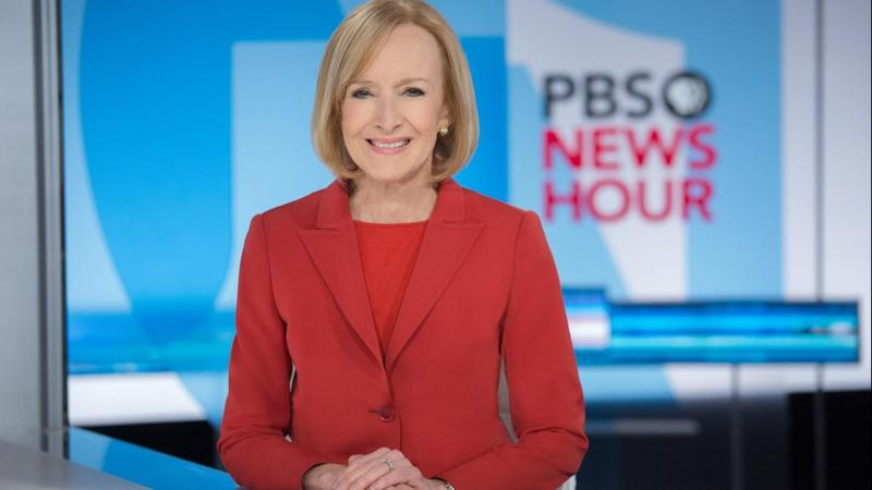 Judy Woodruff, host of PBS NewsHour