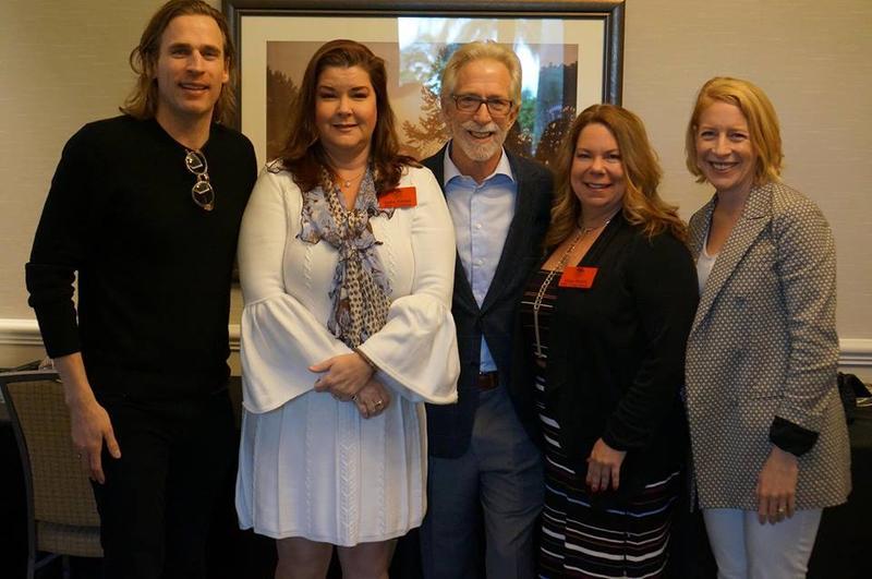 Left to right: Carlo Mondavi, Julie Glenn, Tim Mondavi, Gina Birch, and Carissa Mondavi