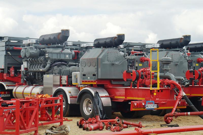 Hydraulic Fracturing Pump Units