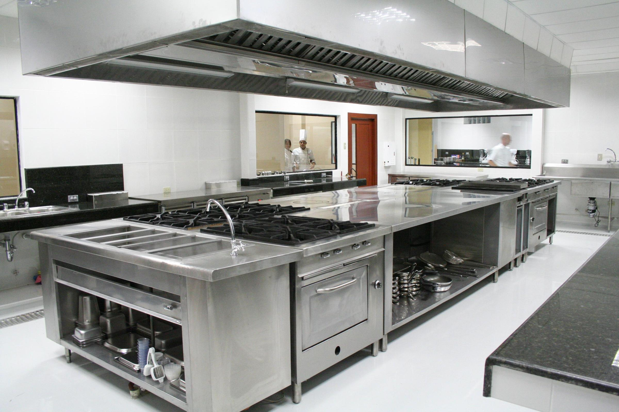 Grant funded commercial kitchen to cook up small business for Kitchen set up for restaurant
