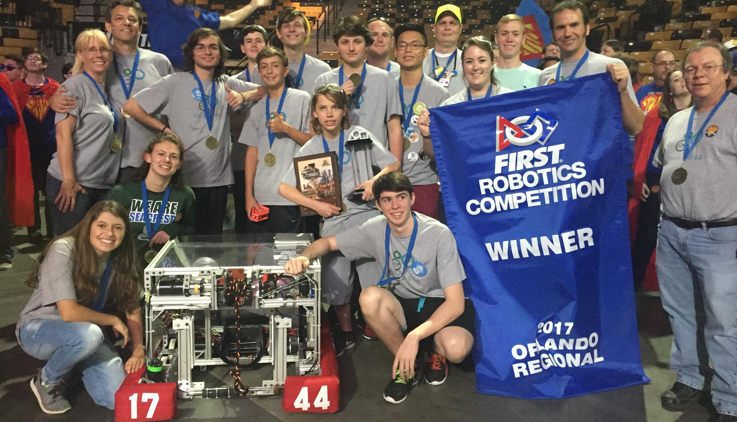 Naples Robotics Team Brings Stem Prowess To Texas World Championship