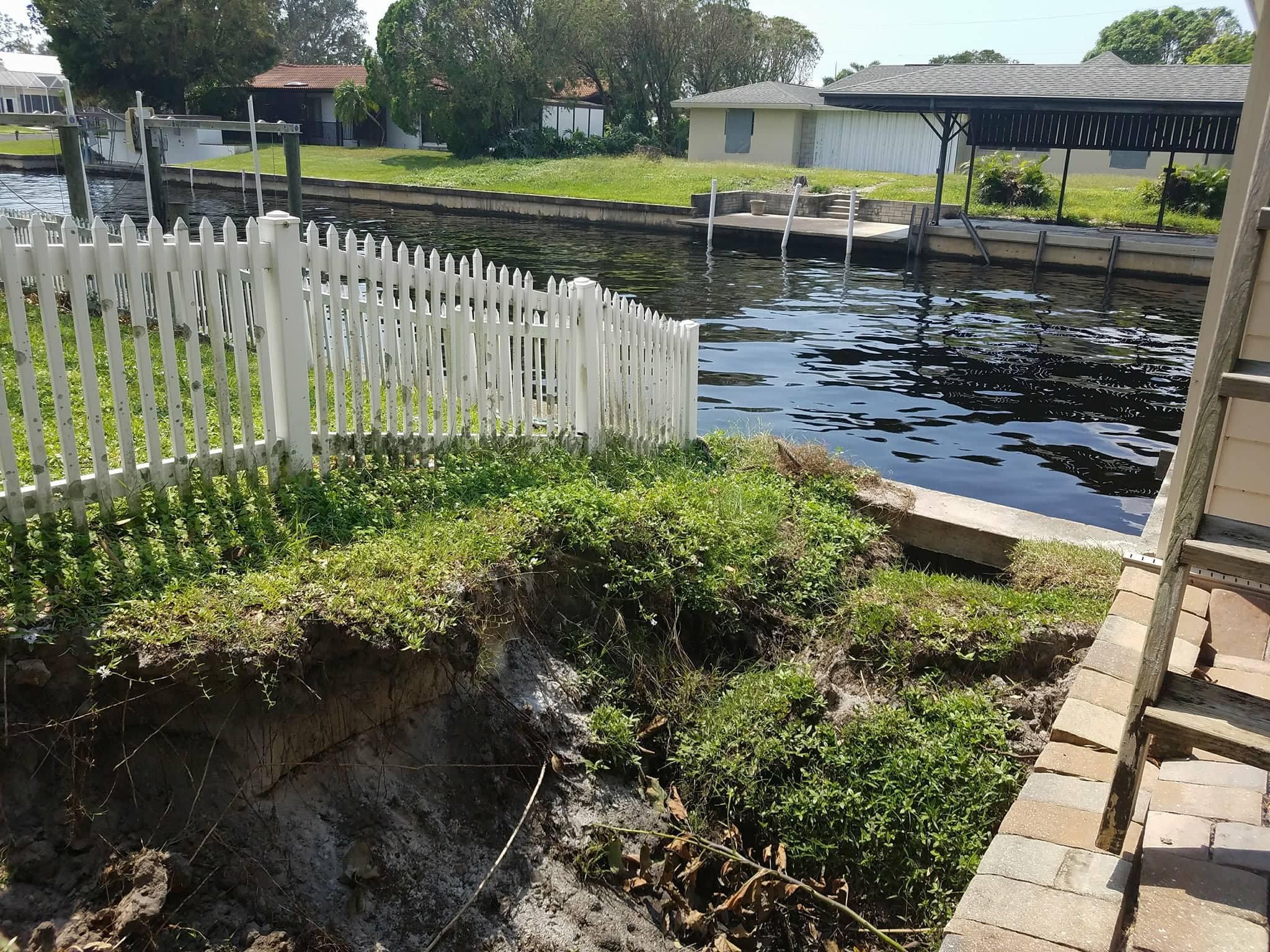 Seawalls In Swfl Damaged In Irma S Wake Wgcu News