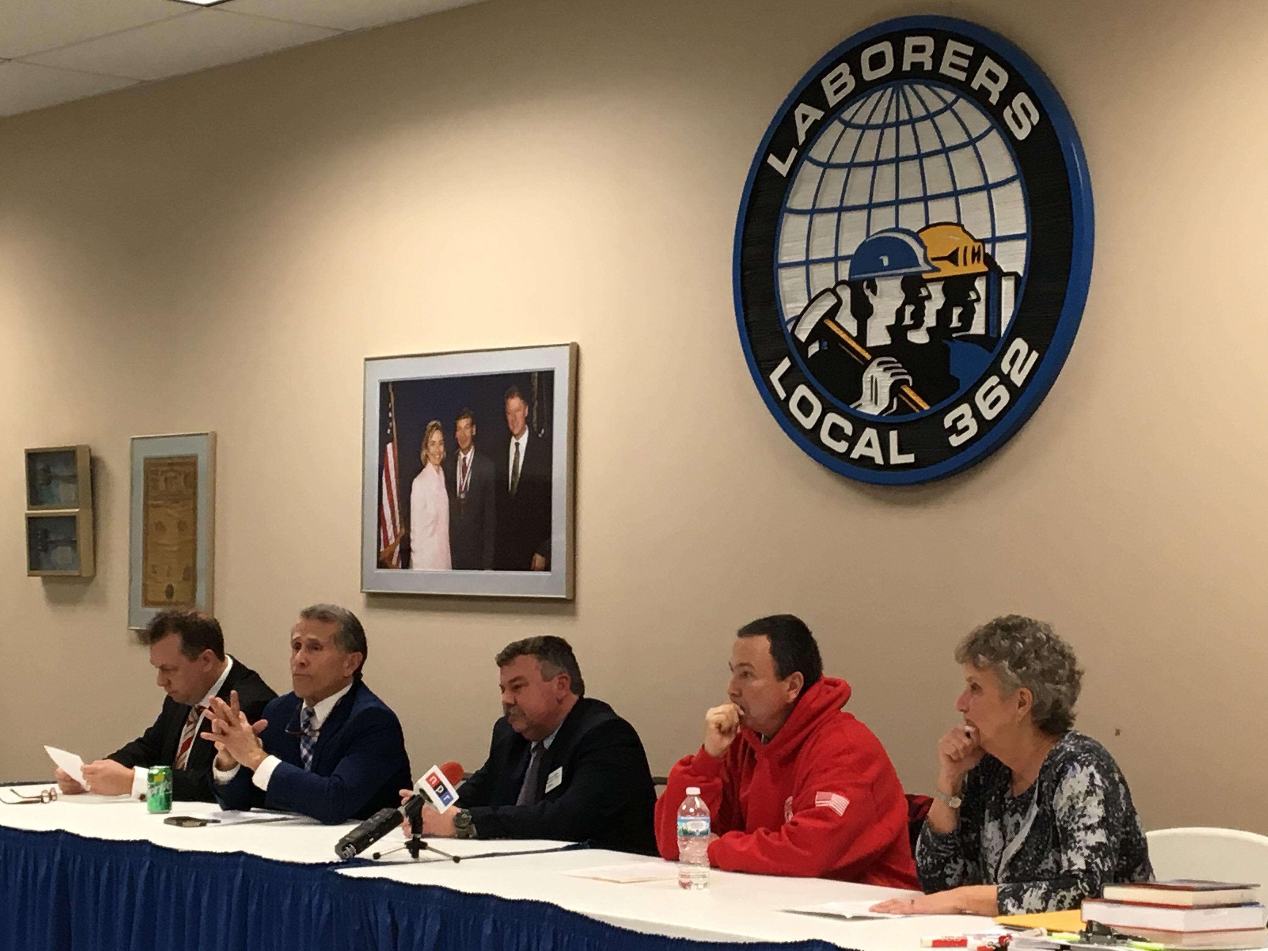 bloomington oral candidates debate city improvement ideas wglt