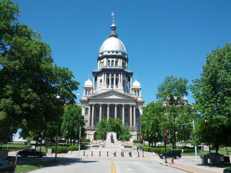 Illinois State Capitol exterior