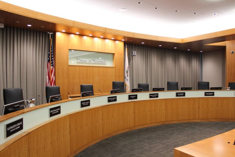 Normal Town Council Chambers