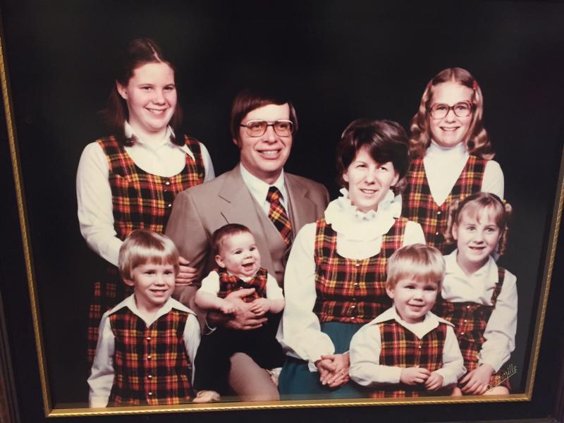 A plaid mad Awkward Family