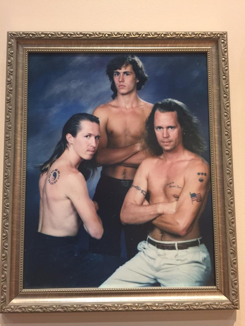 They pawned their shirts to pay for this photograph