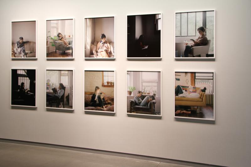 """Reading Women"" at the ISU Galleries."