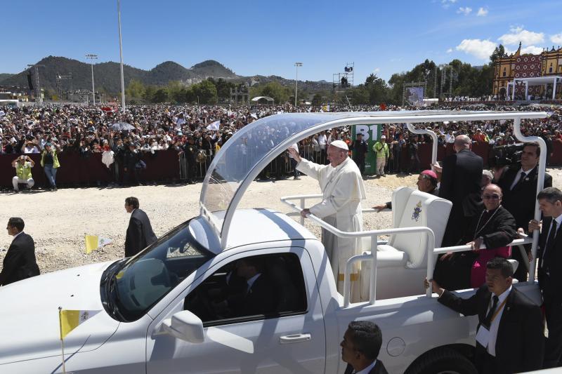 Pope Francis In San Cristobal De Las Casas.