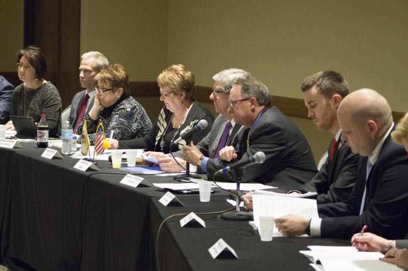 The Normal Town Council met at Illinois State University, hosted by the Student Government Association.