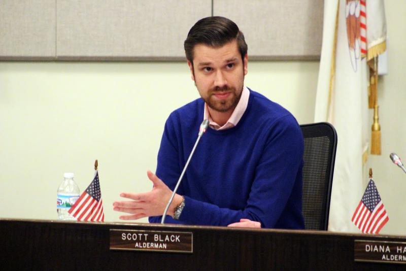 Alderman Scott Black said the city should take responsibility for its cleanliness.