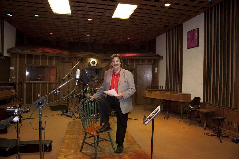 Rick Hall at FAME Studios in Muscle Shoals AL in 2010.