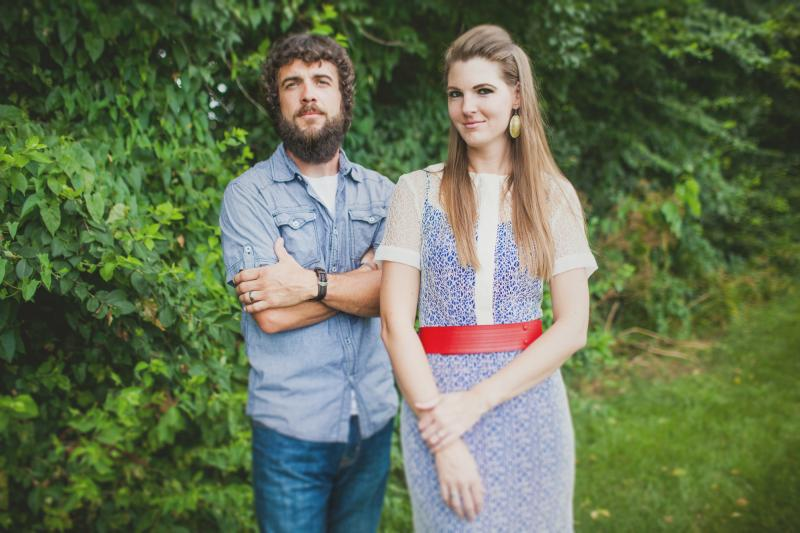 Clint Thomson and Karen Bridges of Stone & Snow