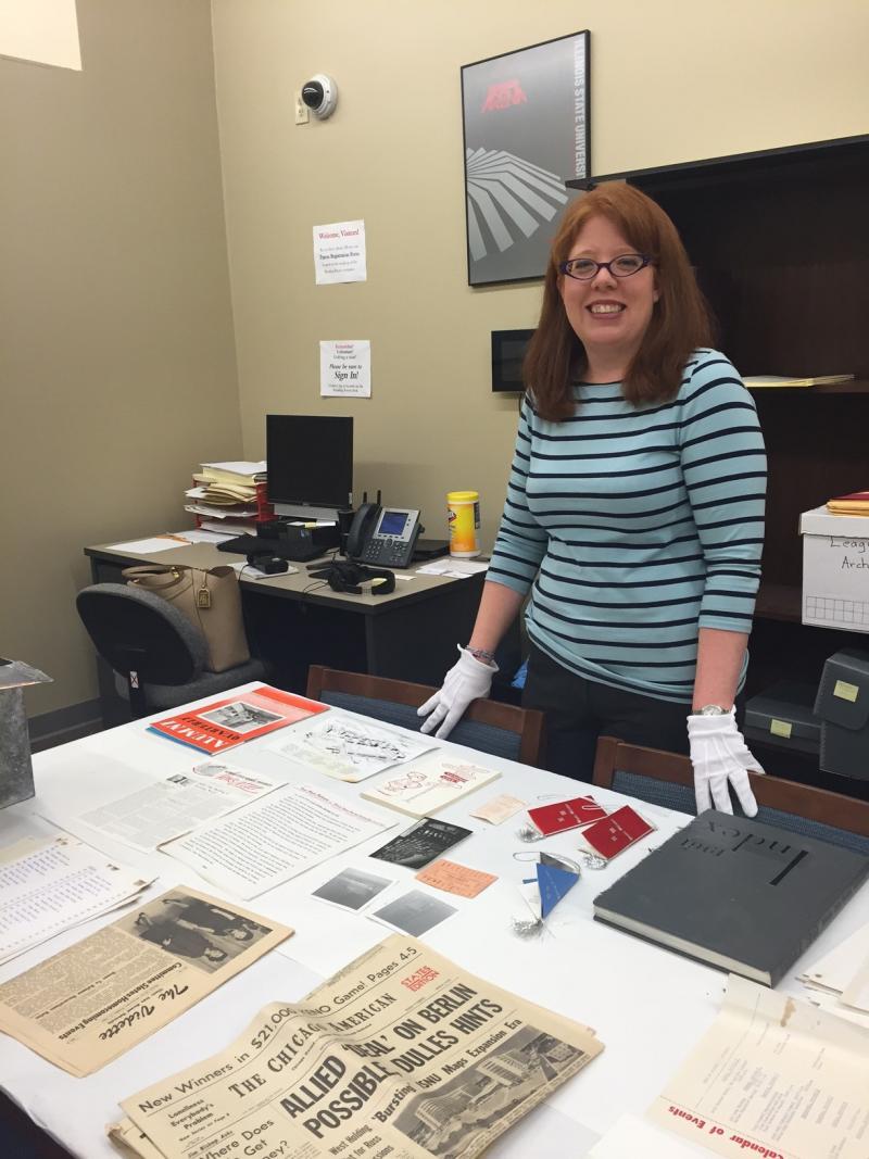 April Anderson, University Archivist