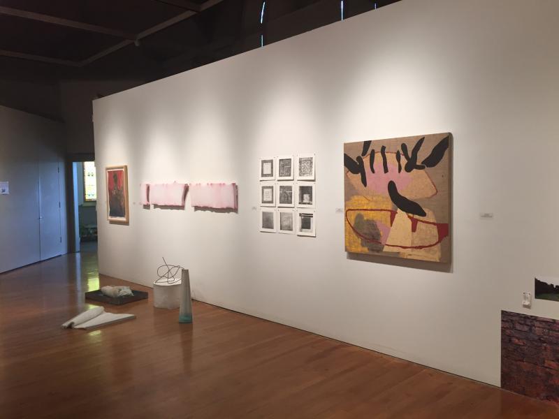 """Emerging Illinos Artists"" is a triennial exhibition."