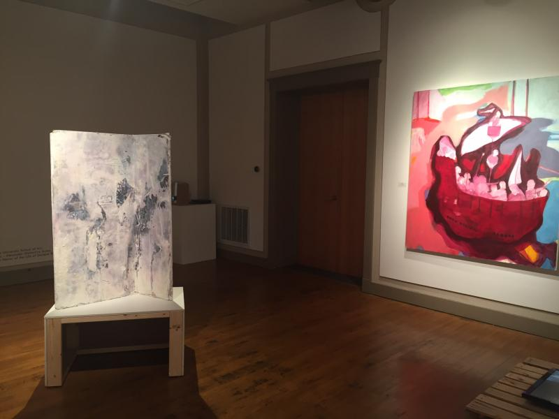 The show was juried by Kelly Shindler, from the Contemporary Art Museum in St. Louis.