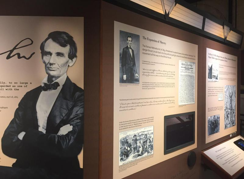 """Abraham Lincoln in McLean County"" is now open."