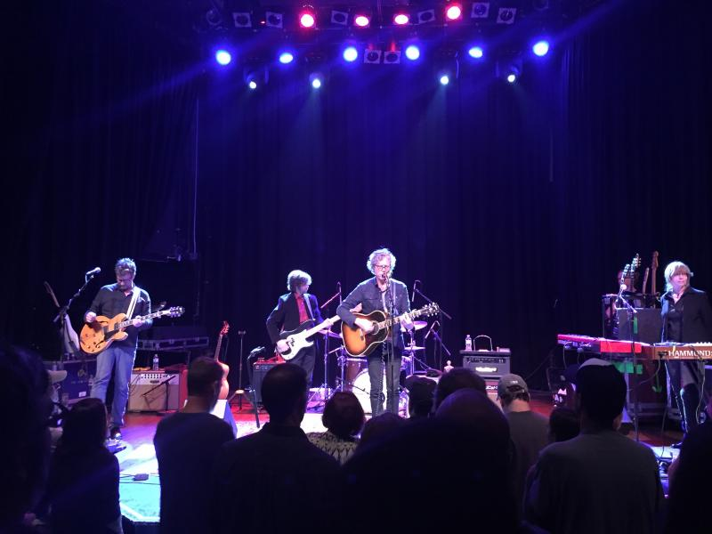 The Jayhawks performing at The Castle Theater on May 21.