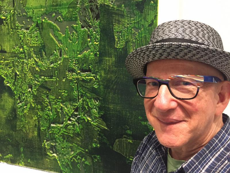 ISU Galleries Director, Barry Blinderman