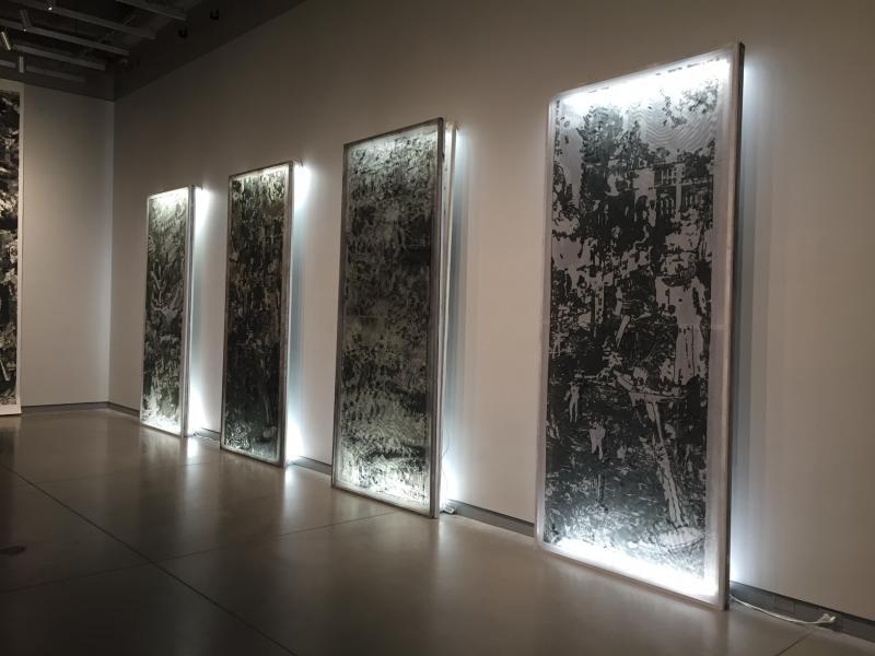 Rob Swainston's huge prints.