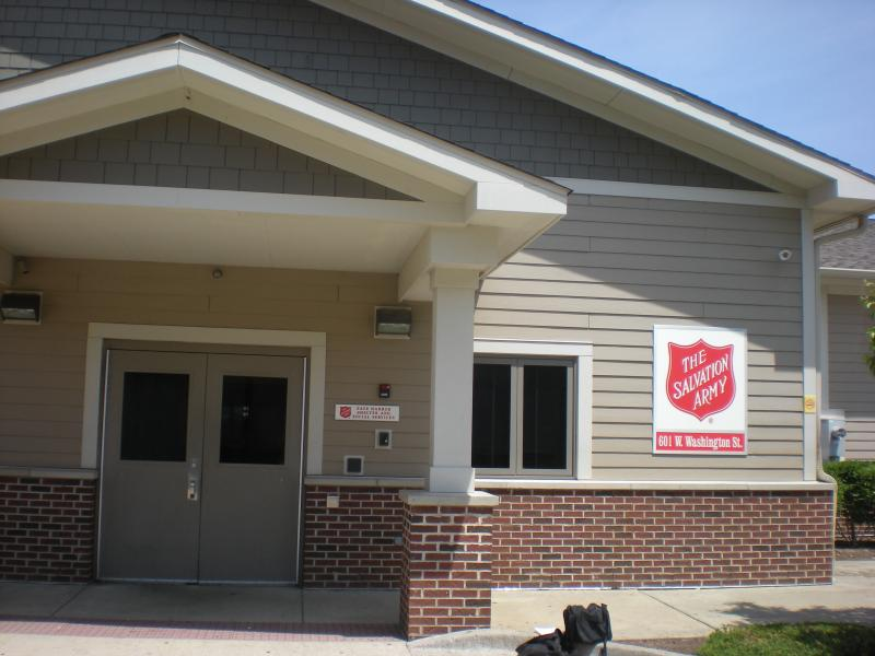 The Salvation Army operates the Safe Harbor shelter which offers overnight beds and meals.