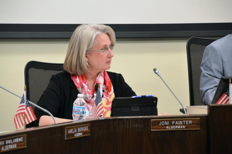 Joni Painter, one of five aldermen who signed an email sent to city staff on Feb. 5 asking to cancel planned discussion on the Welcoming City ordinance.