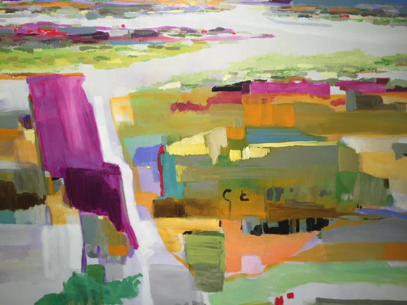 Dick Folse's Abstracted Landscapes
