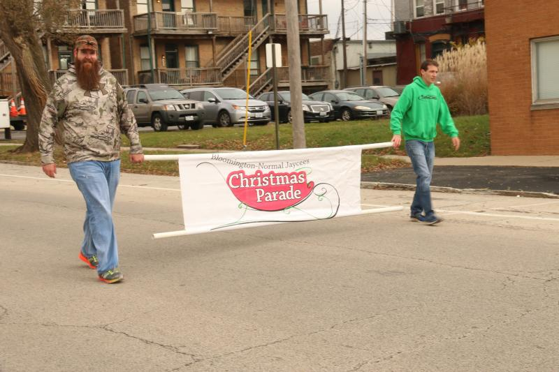 Jaycees Christmas Parade had a great crowd in the Downtown area.