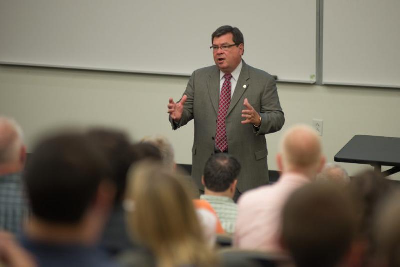 Illinois State University President Larry Dietz.