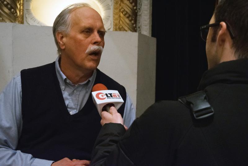 GLT's Mike Miletich interviews organizer Mike Matejka.
