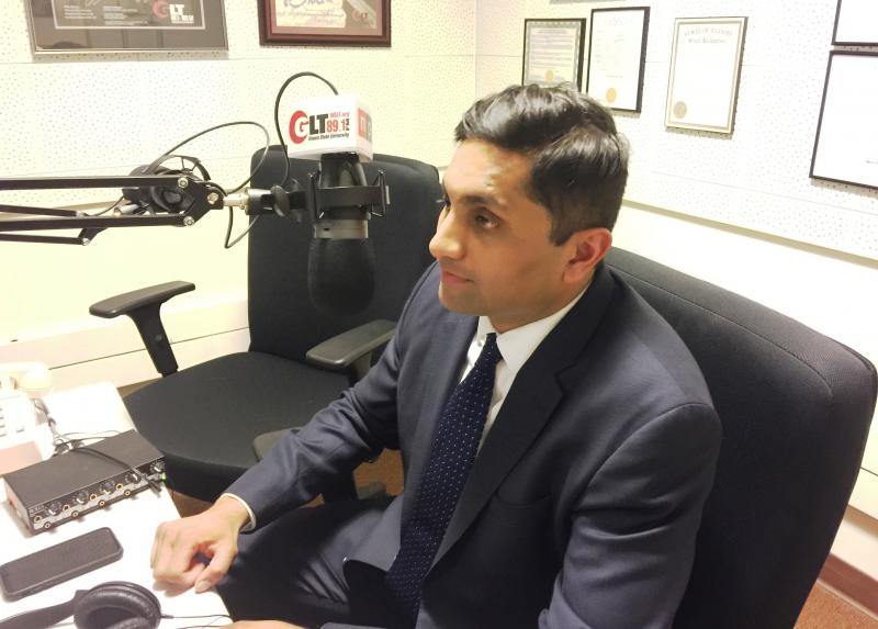 Chicago Alderman Ameya Pawar during a GLT interview.