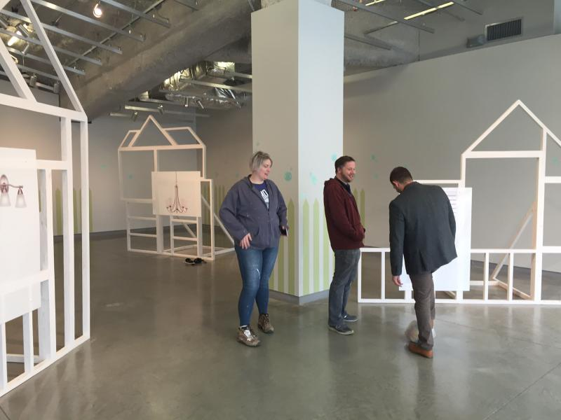 'Subdivision'...before the invited artists moved in.