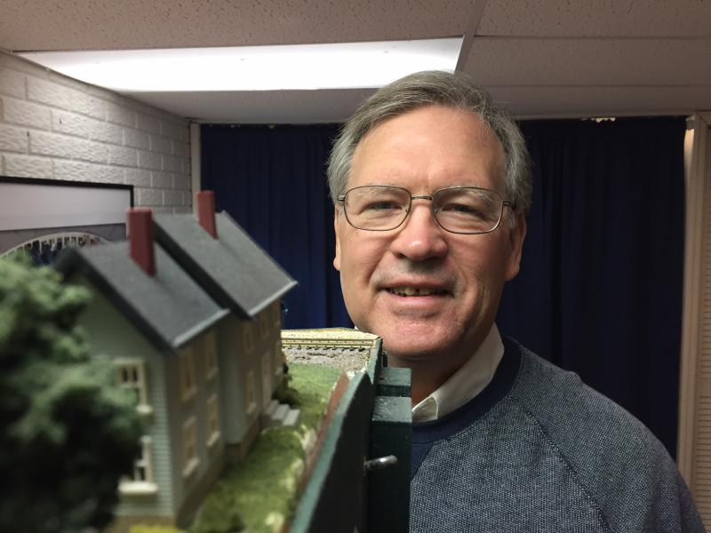 Dave has been a model train enthusiast since his college days.