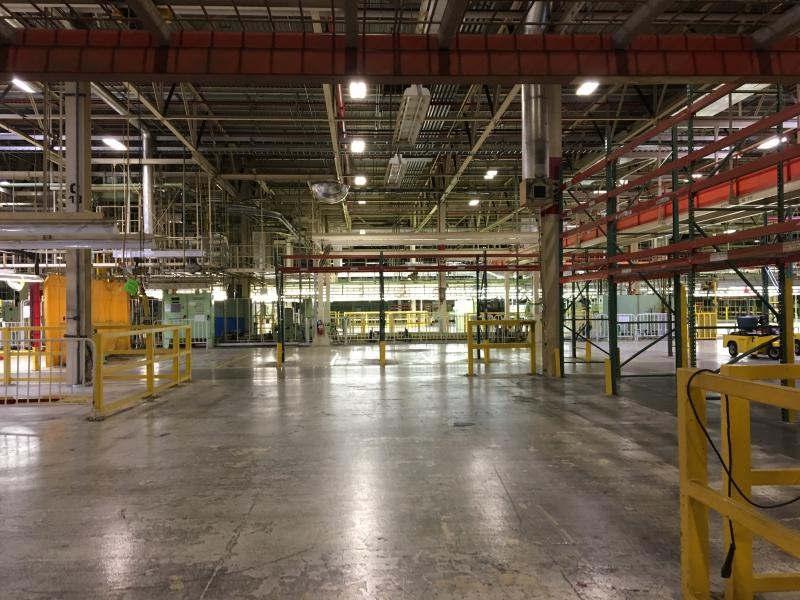 Inside look at Rivian Automotive's facility.