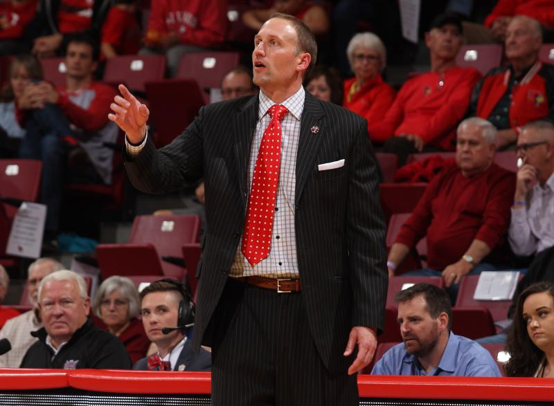 Illinois State men's basketball coach Dan Muller.